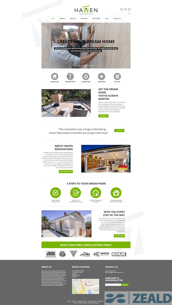 Haven Building Concepts Ltd  - The art and science of good #websitedesign #website #websiteredesign #webdesign #designinsperation #rethinkyourwebsite #layout #redesign #redesignideas #redesigninspiration #creative #landingpages #beforeafter #responsive #leadgeneration #ecommerce #building #construction #services