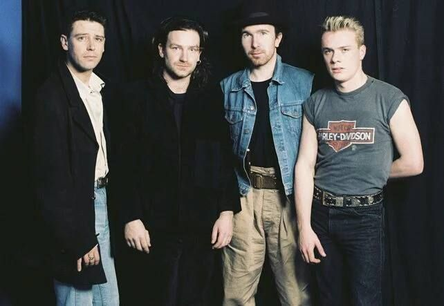 U2- Concert à Dublín Mai 1986