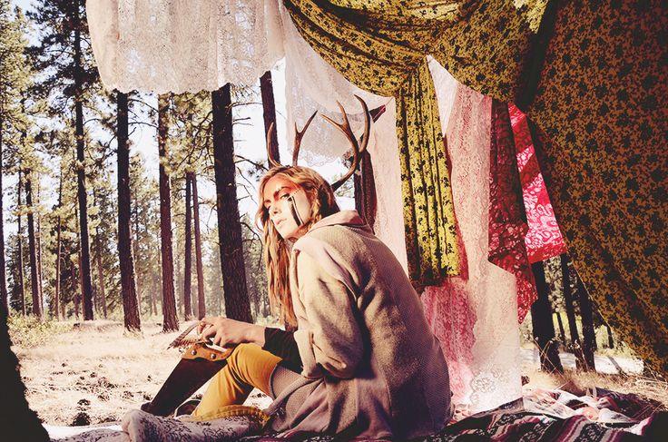 Sara Kelley | Erika Astrid #photography | Asuyeta Wanderlust A/W 2012/13 Collection | #bohemian #boho #hippie #gypsy