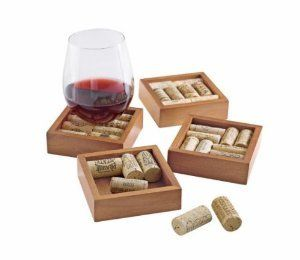 Wine Cork Coasters Kit  Set
