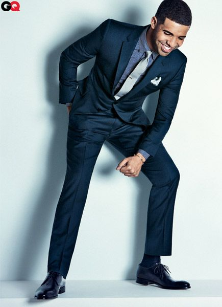 Drake for GQ April 2012.  Seriously??? Looks like I will be buying CQ