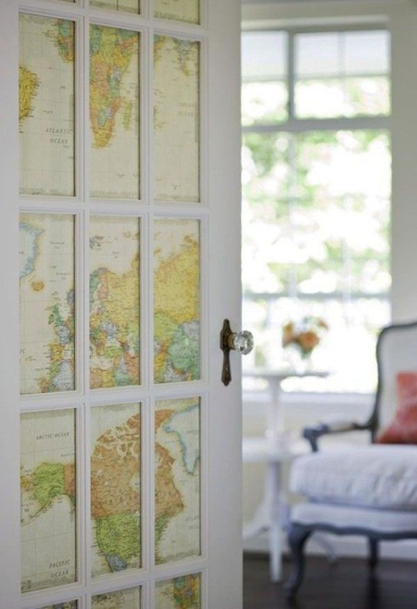 french door covering map