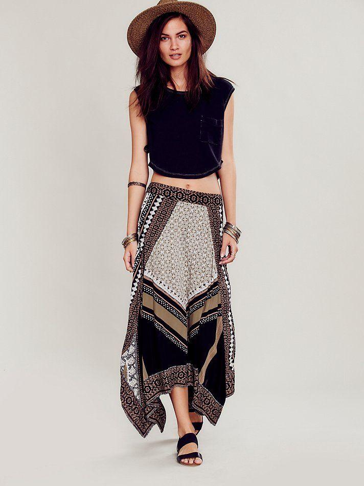 Free People Bedouin Traveler Skirt, $128.00