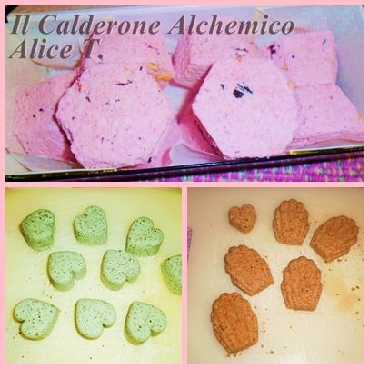 "Il Calderone Alchemico Cosmesi Home Made: ""BATH BOMB"" LUSH TYPE (Alice T.)"