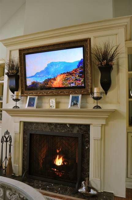 living room with tv and fireplace 17 best ideas about frame around tv on frame 25682