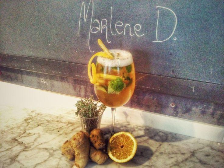 """Marlene D…ecco il cocktail """"artigianale"""" con la birra bianca!"""