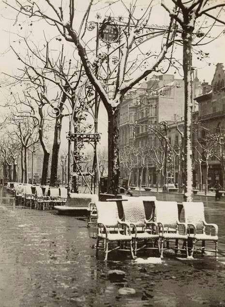 Passeig de Gracia nevada 1932