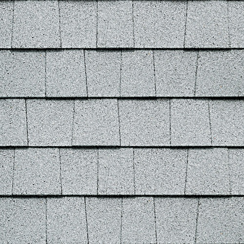 Arctic White Gaf Timberline Roof Shingles Swatch