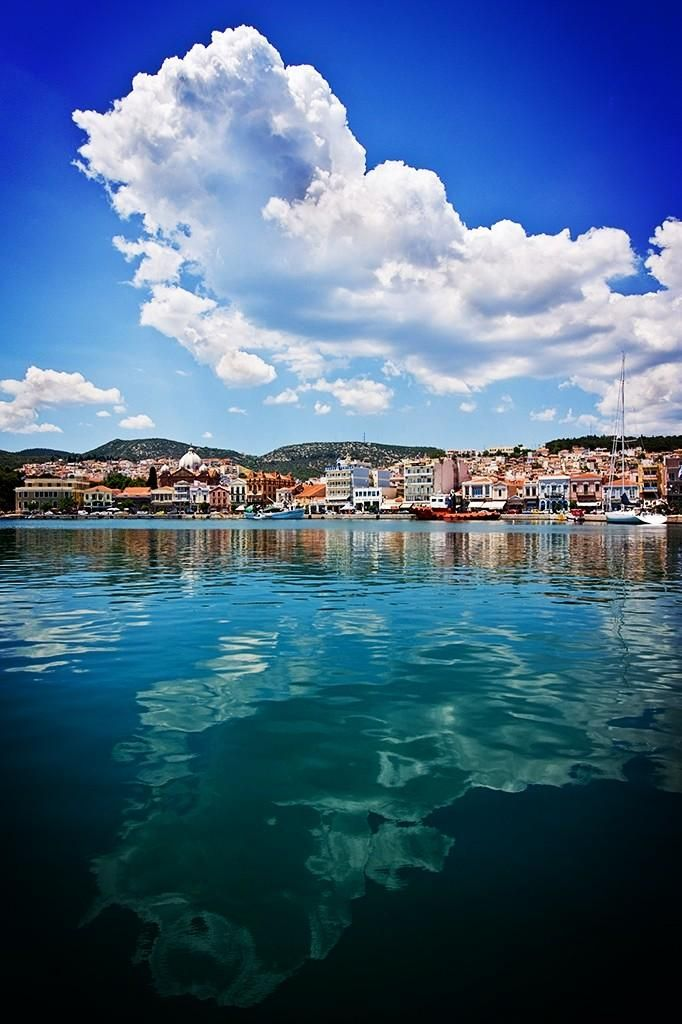 Mytilene, Lesvos, Greece - will be my temporary home starting May 18th!
