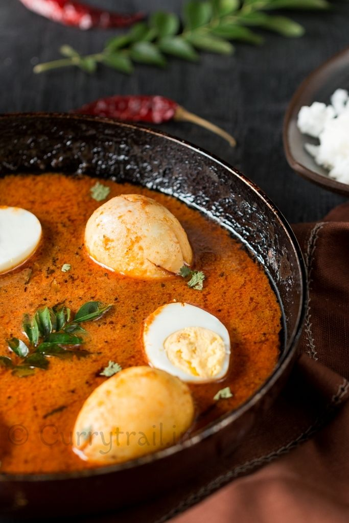 This Chettinad egg curry is not the normal egg curry. It is flavor packed egg curry with lot of spices in it. It's easy to make and tastes simply delicious!