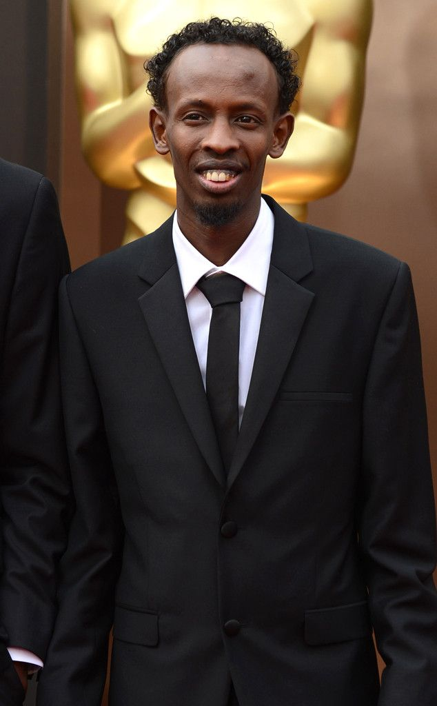 Barkhad Abdi from 2014 Oscars Red Carpet Arrivals | E! Online-HAVE to give a shout out to the home town boy =)