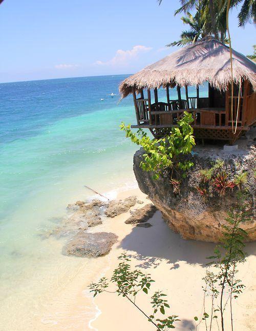 Amazing Tropical Beach Oslob - Philippines
