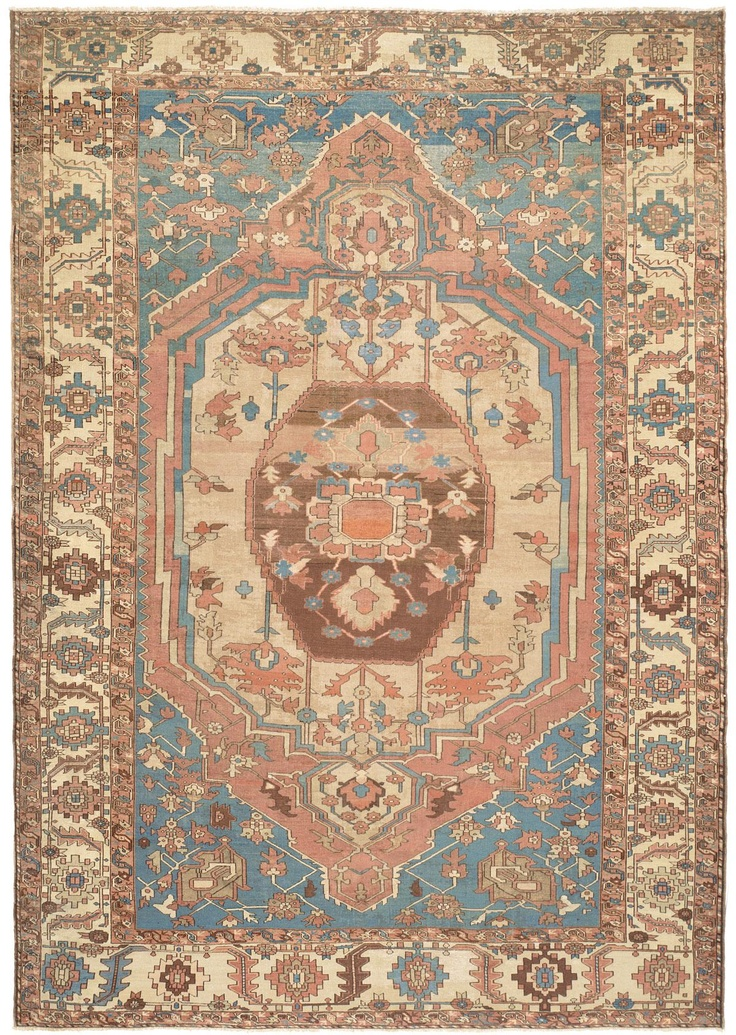 ... Ethereal Palette Of Muted, Rarely Encountered Hues And Tremendous  Spaciousness Of Design Combine To Elevate This Highly Original Oriental Art  Carpet.