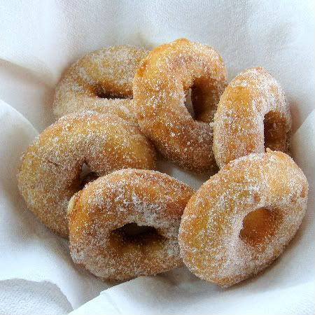 Apple Cider Donuts and the Halloween Donut Game