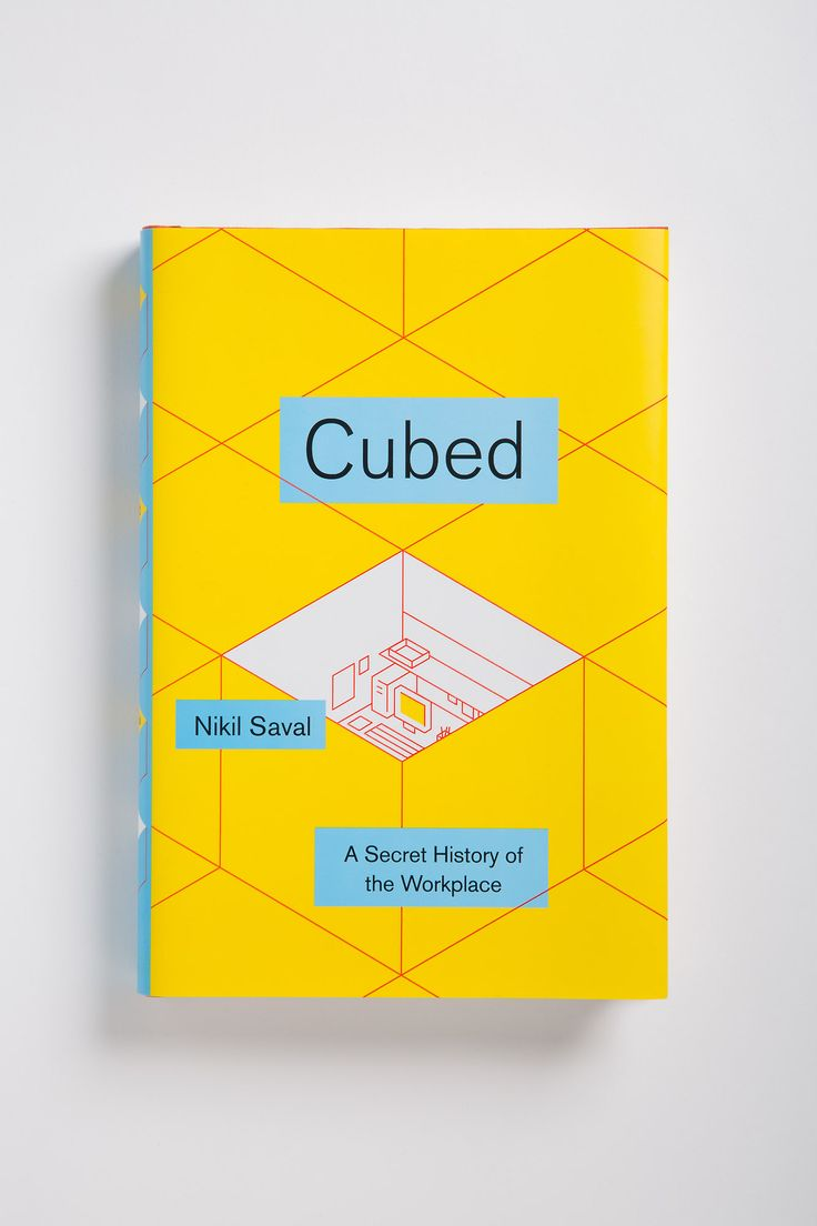 Cubed / book / cover / design / layout / grid / Doubleday, 2014. More