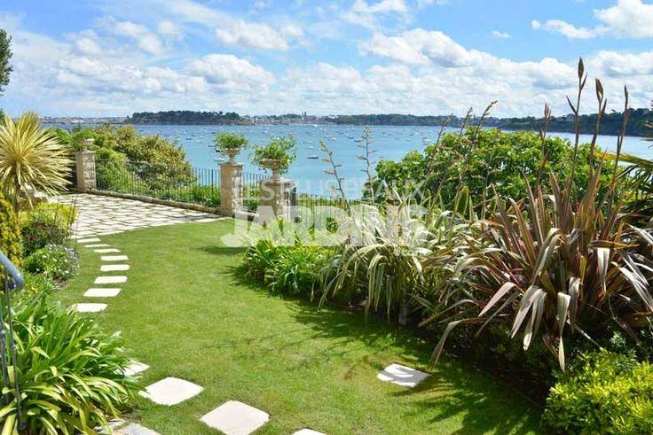 Un jardin bord de mer en harmonie avec la nature les Les jardins de la mer