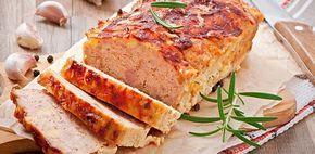 Heavy maar heerlijk gehaktbrood met bacon en Amerikaanse saus.