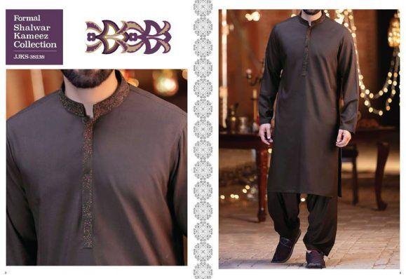 9deb2ce2071a3 J. Latest Eid Men Shalwar Kameez Designs 2018-2019 (6) Mens Shalwar