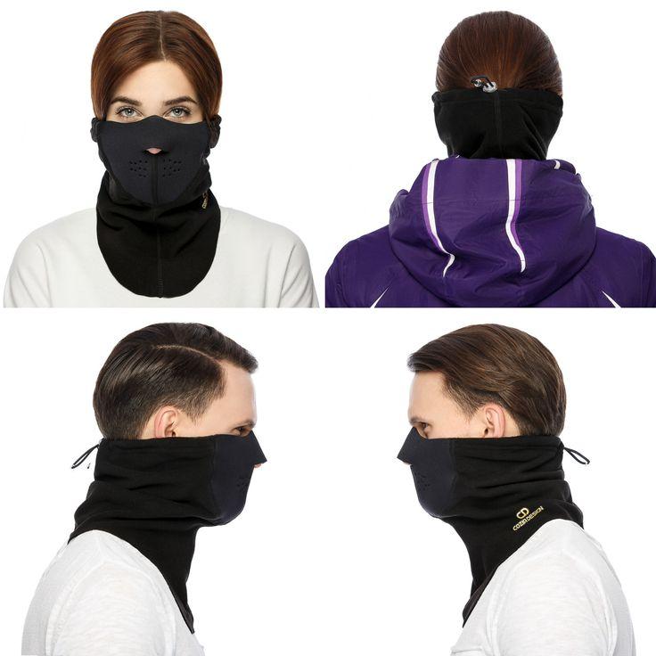 Premium Ski Mask, high quality fiber, top of the line engineeri g for maximum breathability. Keep warm with the Cozia Design Premium Ski Mask. #skimask