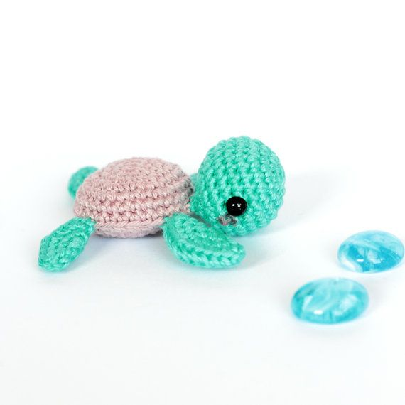Sea turtle stuffed animal Amigurumi turtle plush Turtle by SoCroch