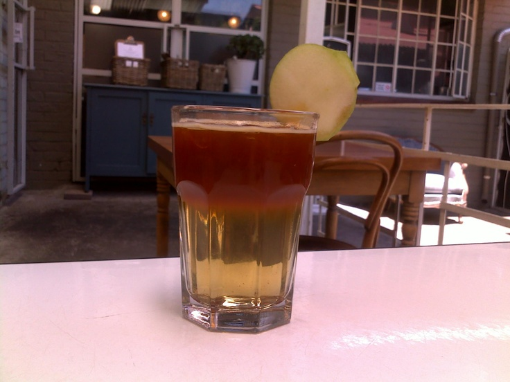 rooibos apple iced tea.yummy.salvation cafe