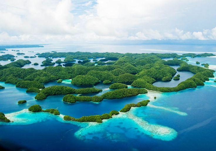 #RockIslands di Palau (Koror)