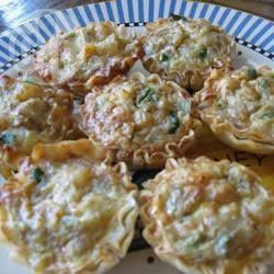 Recipe photo: Mushroom and Stilton tarts