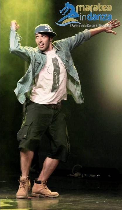 Hip hop team: Michele Cuomo