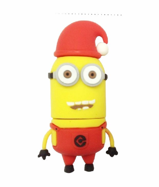Minions Christmas Cap Shape Designer Pen Drive  http://www.snapdeal.com/product/microware-4-gb-minions-christmas/444876121