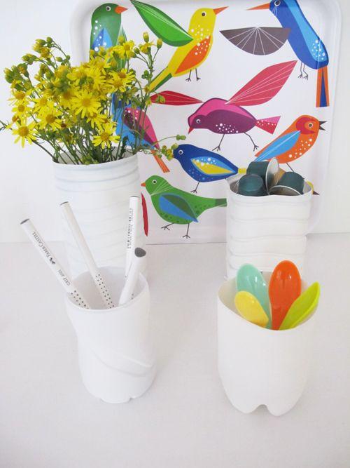 181 besten pet upcycling bilder auf pinterest pet flaschen plastikflaschen und bastelarbeiten. Black Bedroom Furniture Sets. Home Design Ideas