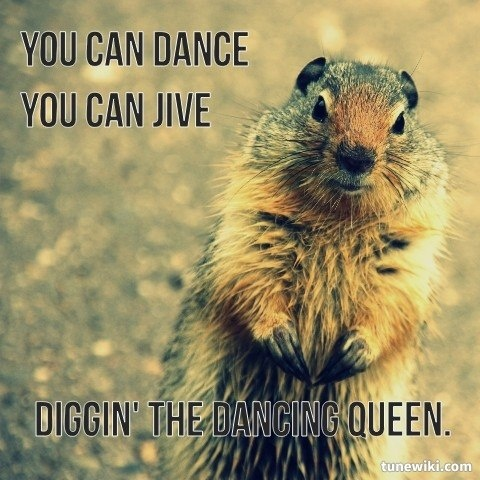 You can dance, You can jive :D