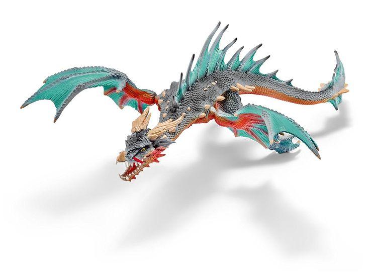 Amazon | Schleich シュライヒ エルドラド ドラゴン(ダイバー) 70520 | フィギュア・ソフビおもちゃ 通販
