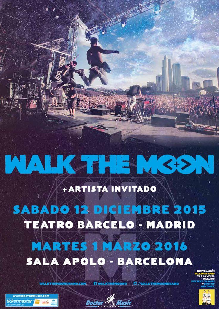Las entradas para los próximos conciertos de Walk The Moon en Madrid y Barcelona salen a la venta mañana.
