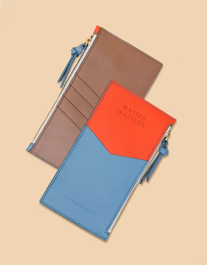 Mini Zipped Pouch | Matter Matters | NJAL SHOP | NEW ARRIVALS | www.notjustalabel...