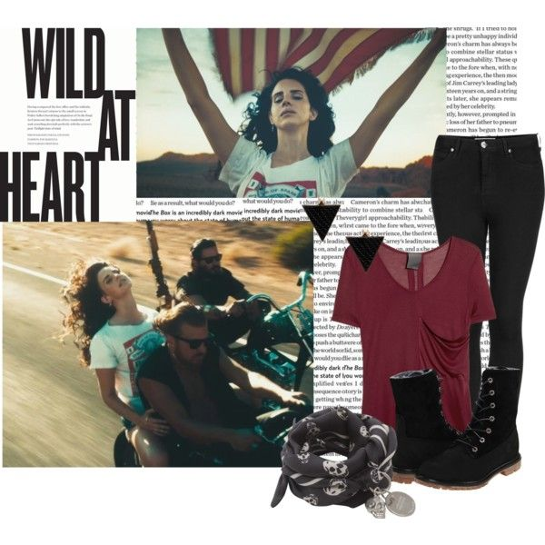 Losing All Hope Was Freedom by sammyfierce on Polyvore
