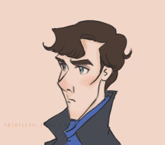 """Click thru for animation artbylexie: """"Sherlock, are you listening to me?"""" """"Do I have a track record of listening to you, Mycroft?"""""""