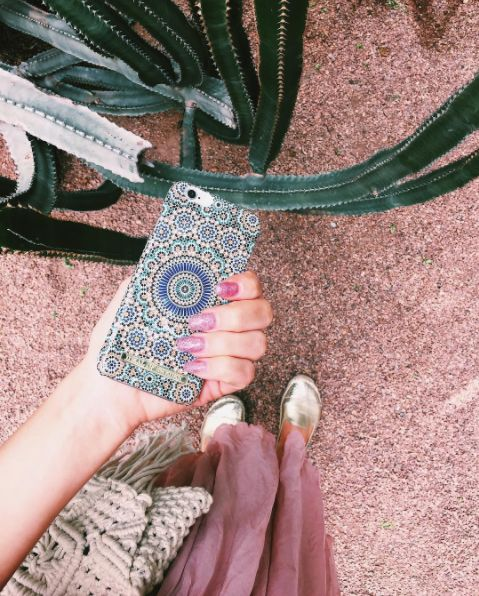 Moroccan Zellige by lovely @ida.thorne - Fashion case phone cases iphone inspiration iDeal of Sweden #Mosaic #blue #fashion #inspo #iphone #pattern #tile #summer #Marrakech
