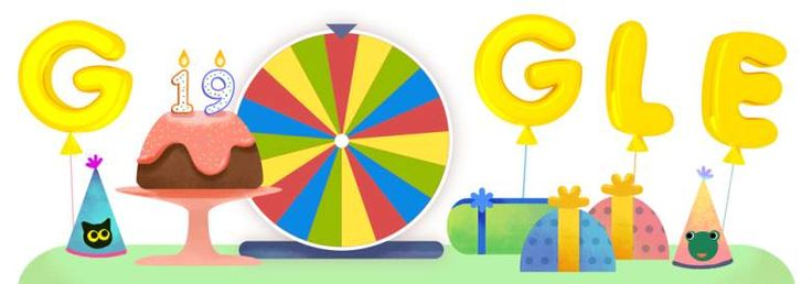 It's google's 19th birthday Today. Happy Birthday Google..🎂🎂🎂 #Student #googlebday #University #Australia
