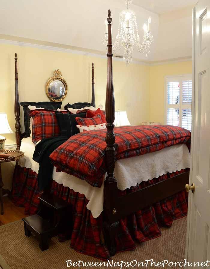 Dressing The Bed In Tartan Ralph Lauren Inspired