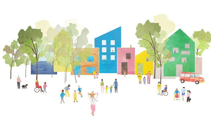 CIVIC architects - Hazelaar School - Rotterdam | concept