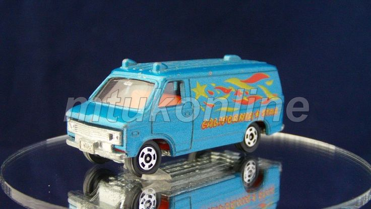 TOMICA F23 CHEVROLET CHEVY VAN 1977 | 1/78 | JAPAN | F23A-1 | FIRST | NO BOX