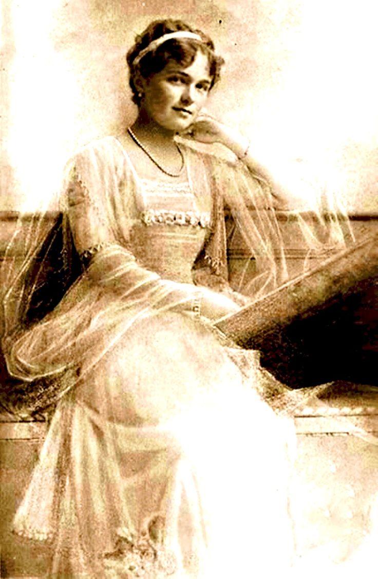 Grand Duchess Olga Nikolaevna Of Russia, The Eldest Daughter Of Tsar  Nicholas Ii And Empress