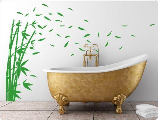 49 besten florale wandsticker b ume blumen ranken pflanzen bilder auf pinterest - Wandsticker bambus ...