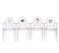chairs are the new handbag!!! this is a musthave! i especially love the mask