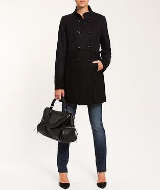 Manteau bicolore - Etam (OFFERT)