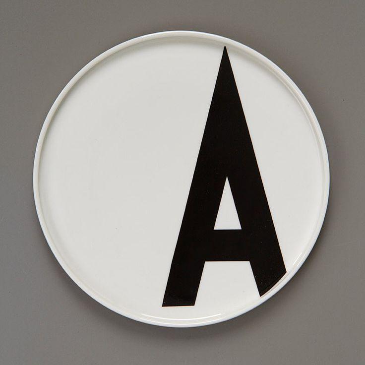 top3 by design - DESIGN LETTERS - Arne Jacobsen - AJ porcelain bowl A - Z