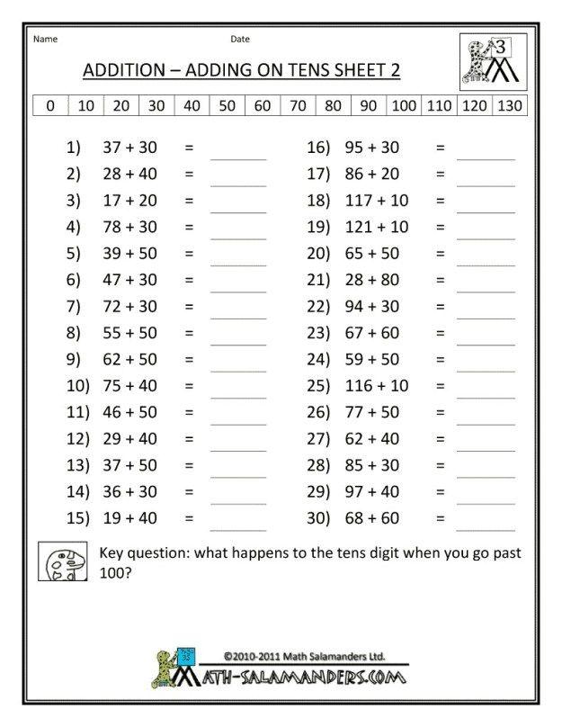 10 Worksheets Third Grade Worksheets For Kids Third Grade Worksheets