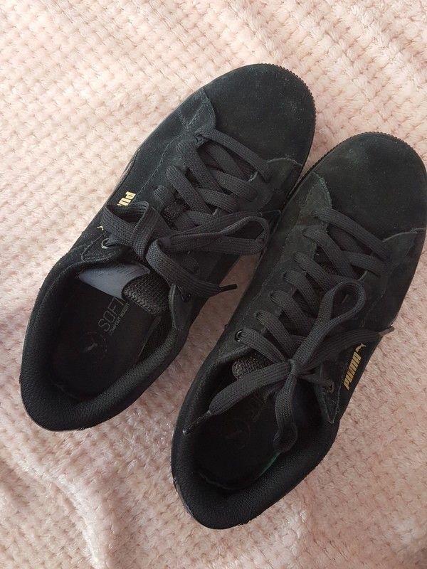 Puma vikky platform, All black sneakers