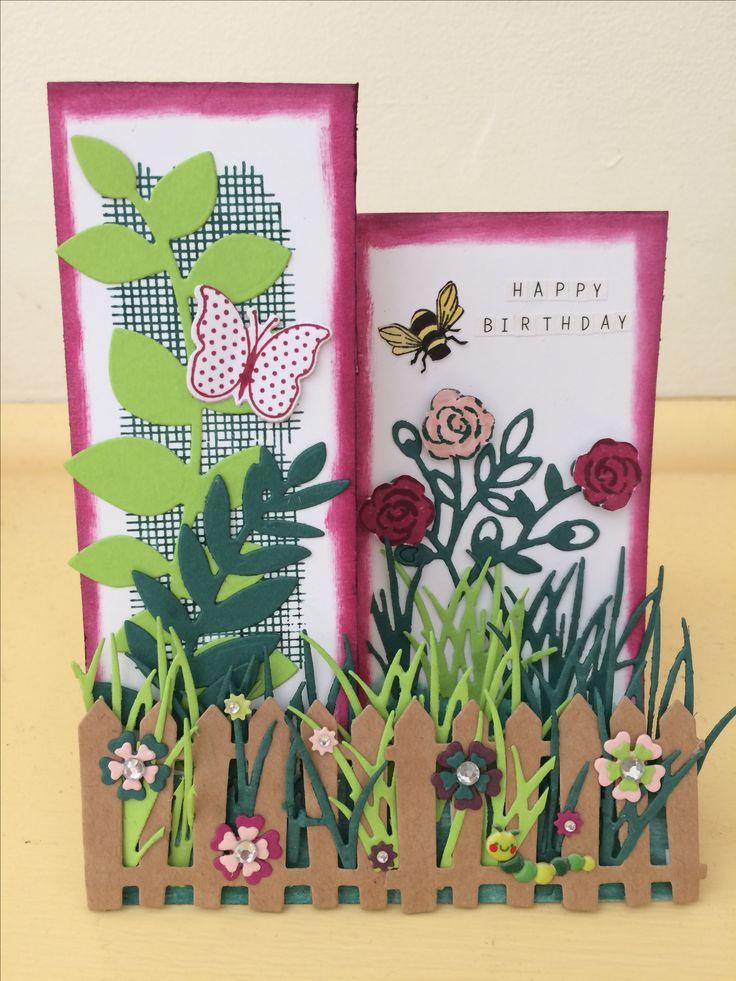 Garden card no 2 :) #handmadebyme July 2017