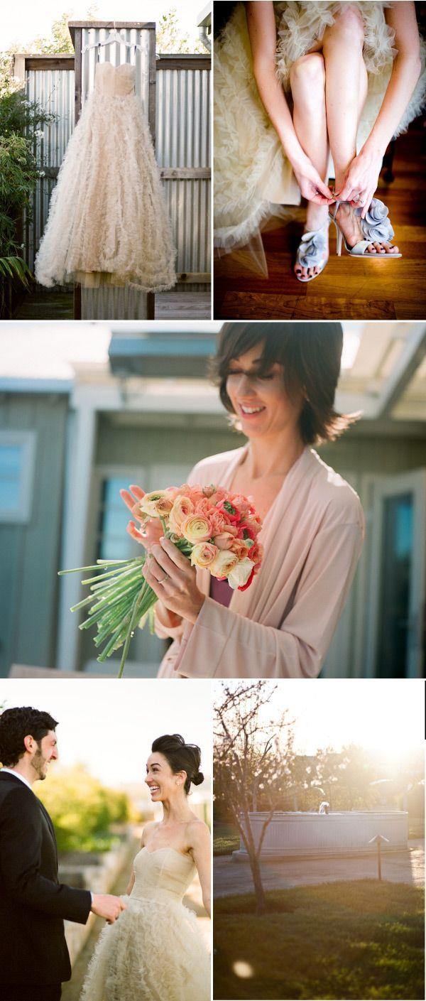 {La novia del increíble vestido color champán} - {Love Notes} Las Notas de amor de Vintage & Chic